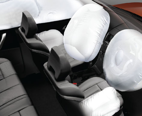 6 Airbags (W6, W8)