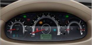 Classy Instrument Cluster
