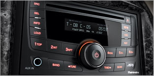 2-DIN Music System with Bluetooth